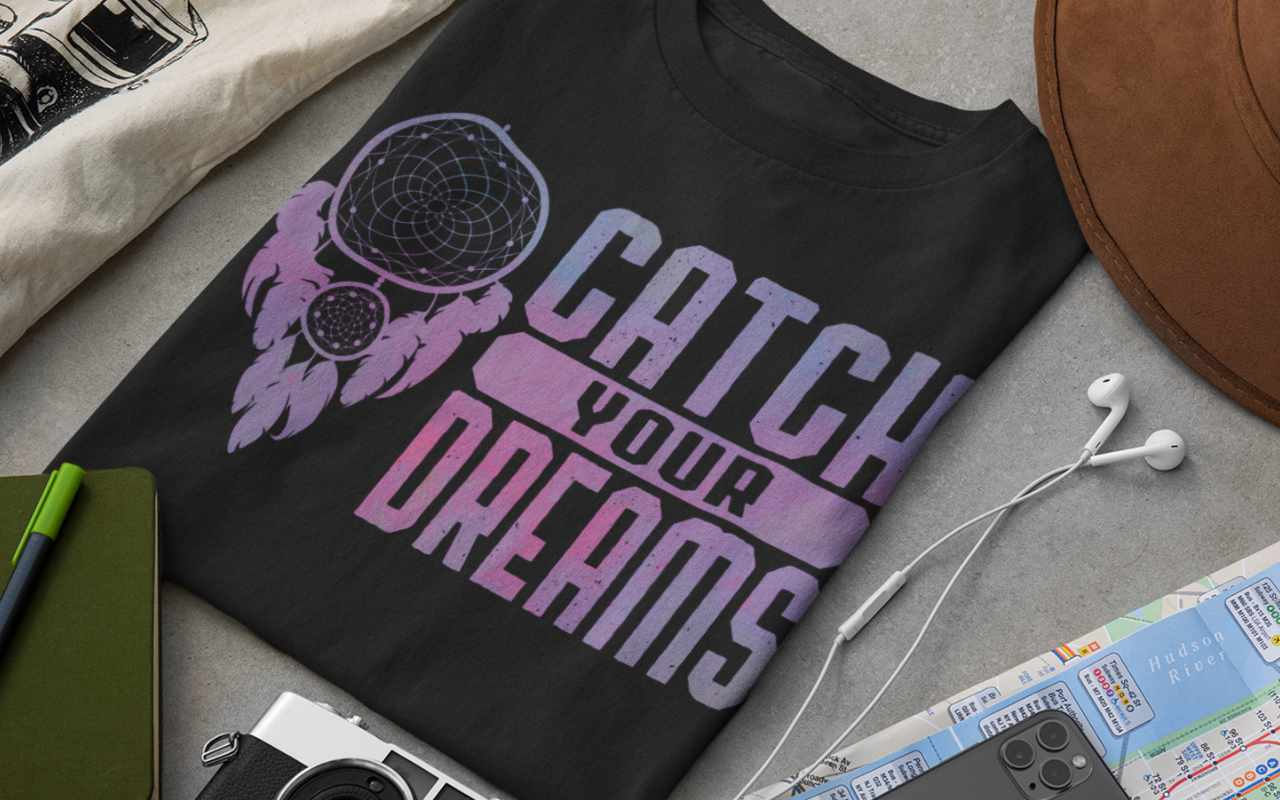 Catch Your Dreams - Dream Catcher Design