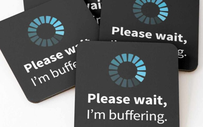 Please wait, I'm buffering