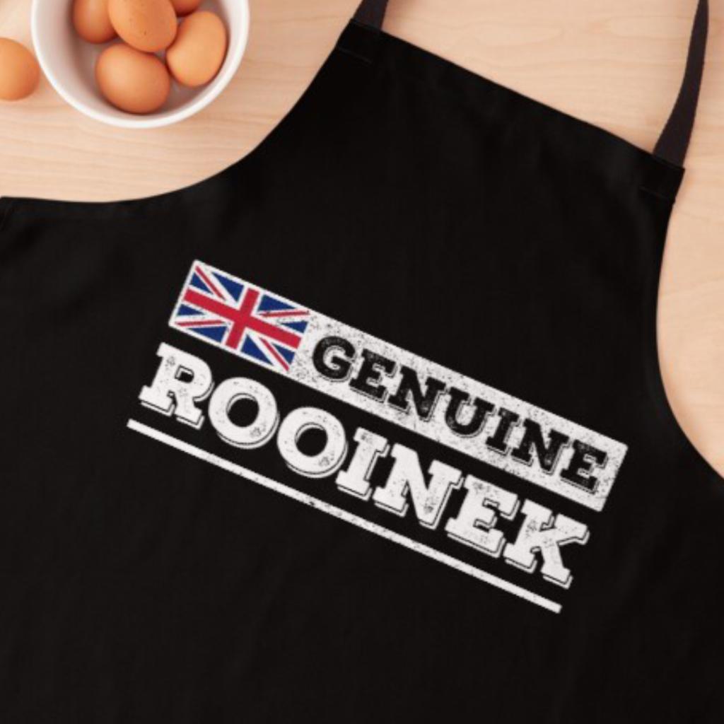 Genuine Rooinek design with Union Jack Apron