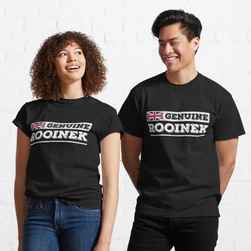 Genuine Rooinek design with Union Jack T-Shirt