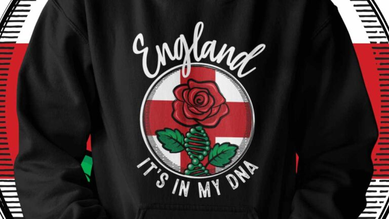 England – It's in my DNA