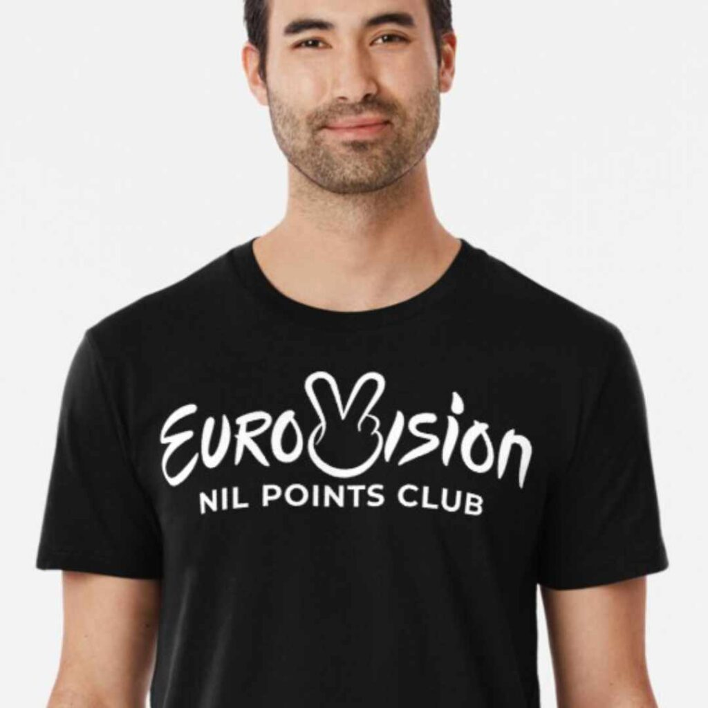 Eurovision Song Contest - Nil Points Club T-Shirt