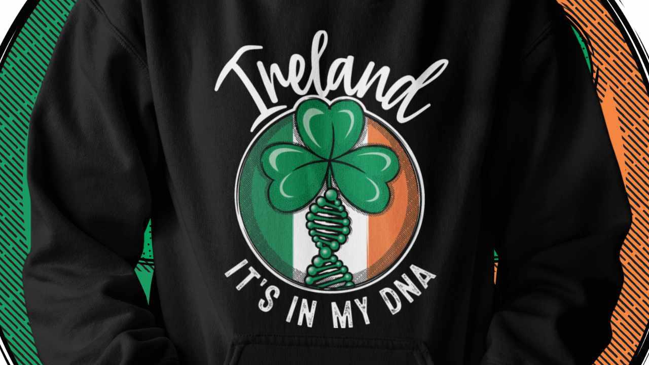 Ireland - It's in my DNA hoodie