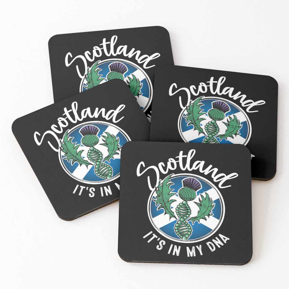 Scotland - It's in my DNA coasters