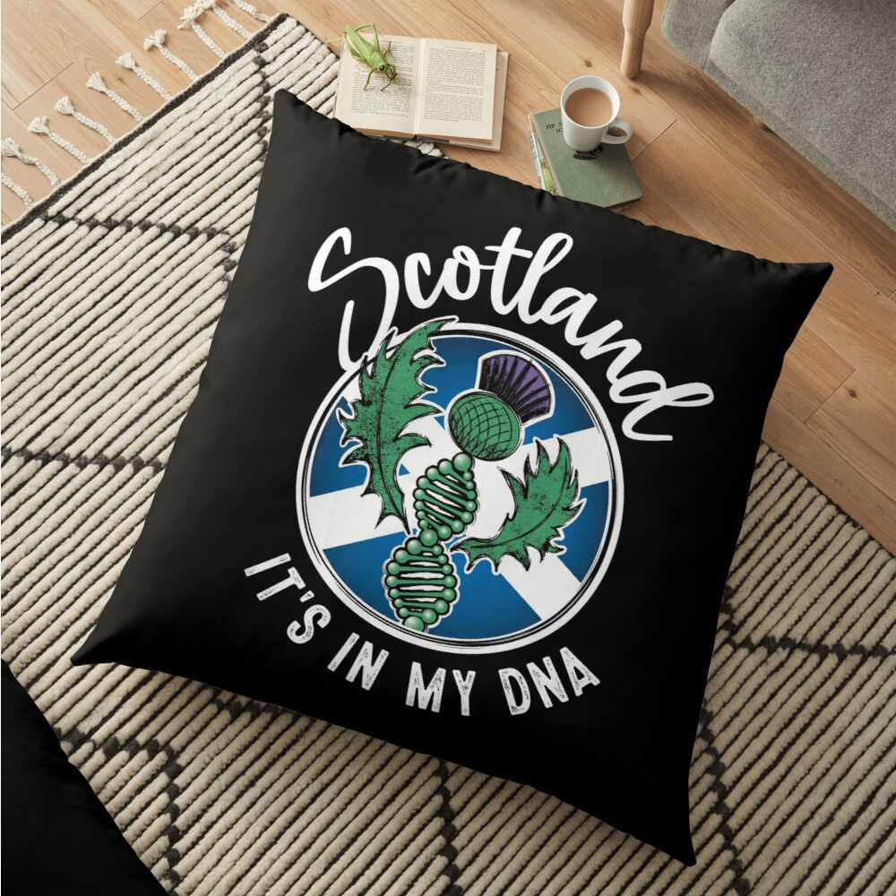 Scotland - It's in my DNA pillow
