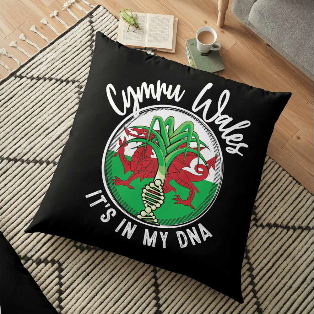 Wales - It's in my DNA pillow