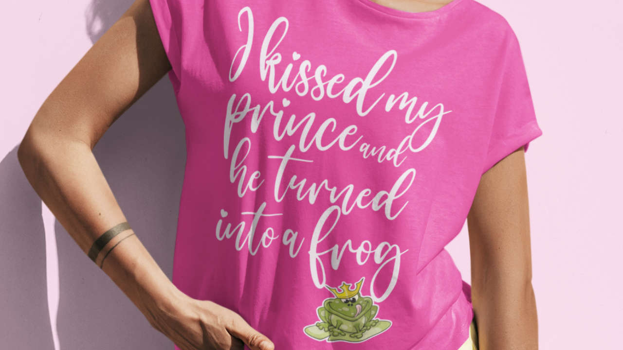 I kissed my prince and he turned into a frog - t-shirt