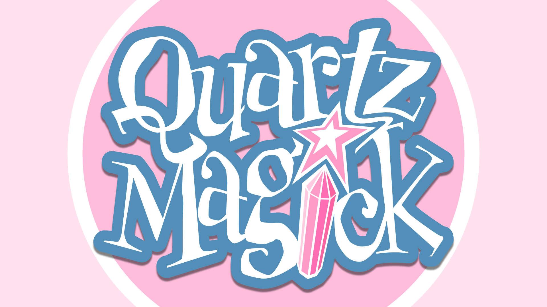 Quartz Magick on background