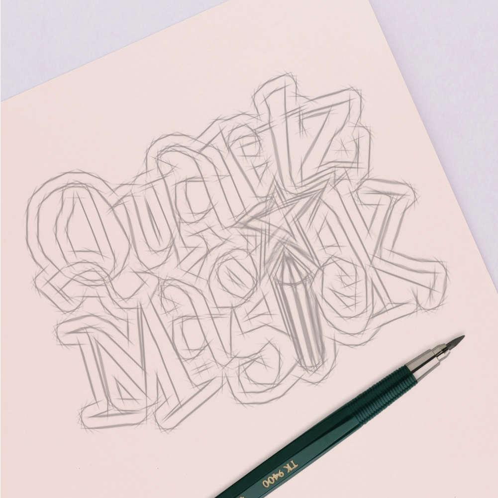 Quartz Magick Sketch
